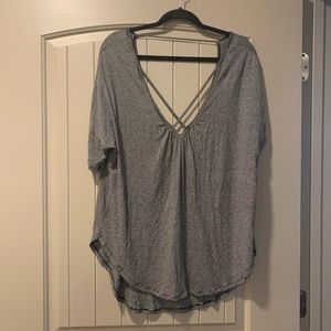 Lush cross front T from Nordstrom